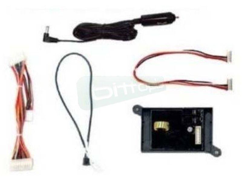 KIT para instalación en coche para DC-DC - KIT que incluye regulador de tensión a 12V y cable para alimentación al mechero del vehículo.