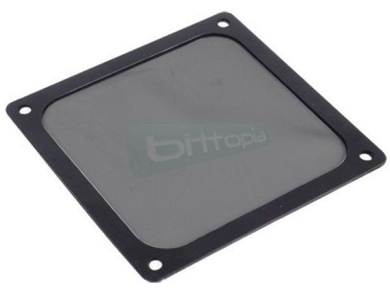 SilverStone FF143B. Filtro Negro ultrafino magnetico para ventilador de 140mm