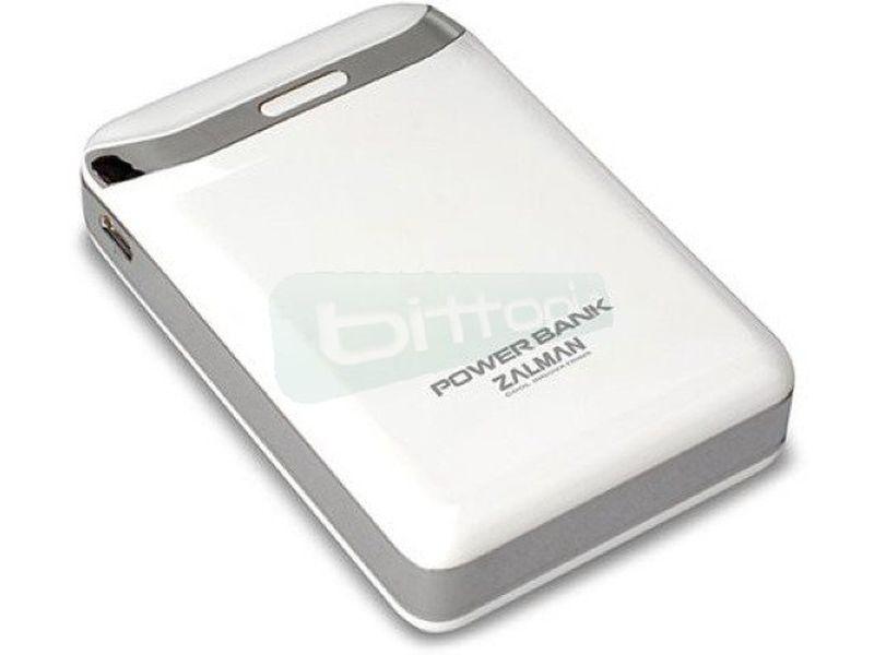 Zalman ZM-PB84IW.  Bateria portatil 8400mAh - Cargador portátil. Incluye varios conectores. Batería Li-ION.