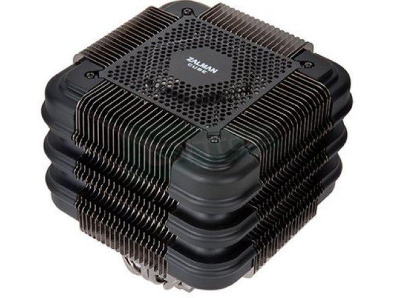 Zalman FX100 - Cooler para CPU fabricado en cobre/aluminio.Compatible con Socket FM2/FM1/AM3+/AM3/AM2+/AM2 y Socket 2011/1366/1156/1155/1150/775. Ventilador opcional.