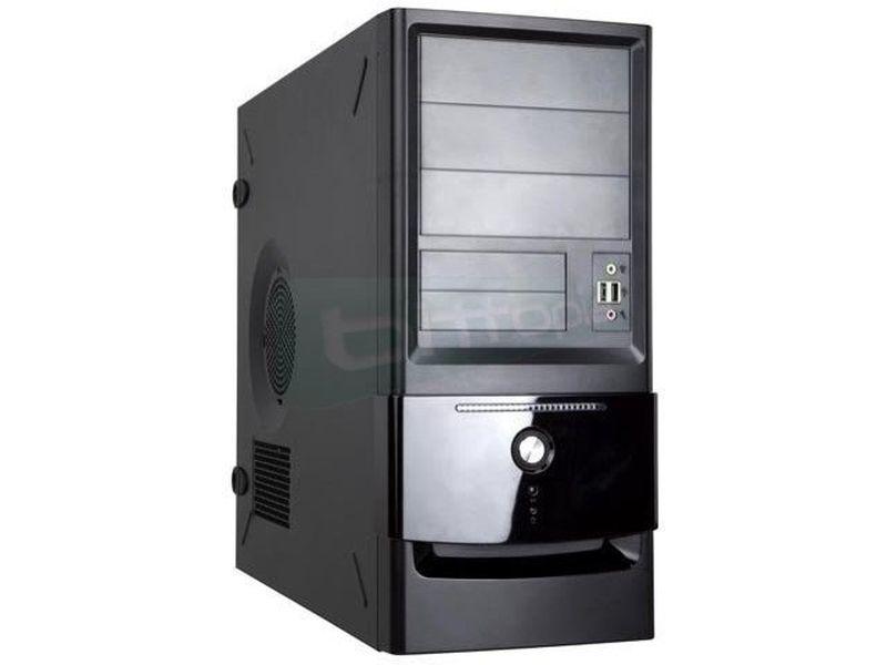 In Win C645 con fuente 400w reales - Caja Semitorre de color negro. Fuente de alimentación 400W. Conexiones: 2 x USB 2.0 y Audio. Bahías externas: 3 x 5,25 / 2 x 3,5. Bahías internas: 5 x 3,5.