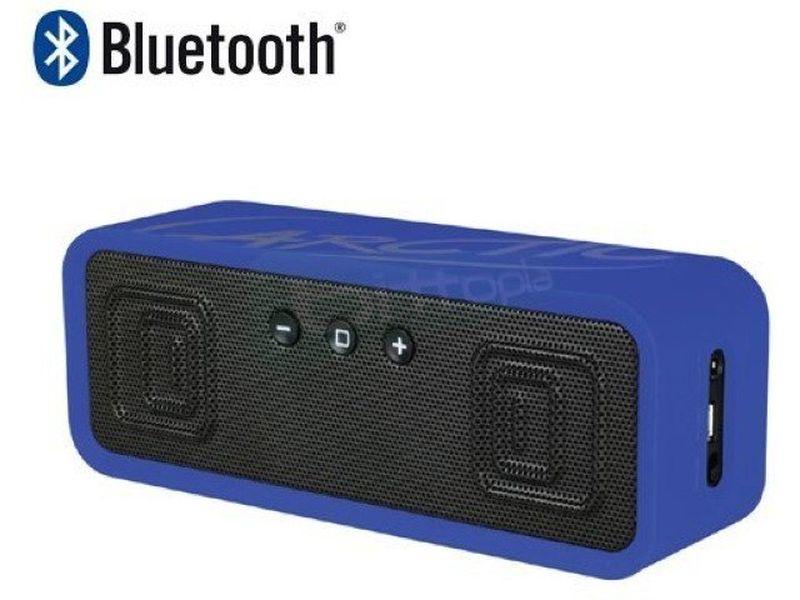 Arctic S113BT Azul. Altavoces Bluetooth - Altavoces portátiles en color azul. Conexiones: Bluetooth, NFC y Jack 3,5mm. Frecuencia de respuesta: 30Hz ~ 20kHz. Salida: 2 x 3W. 290gr.