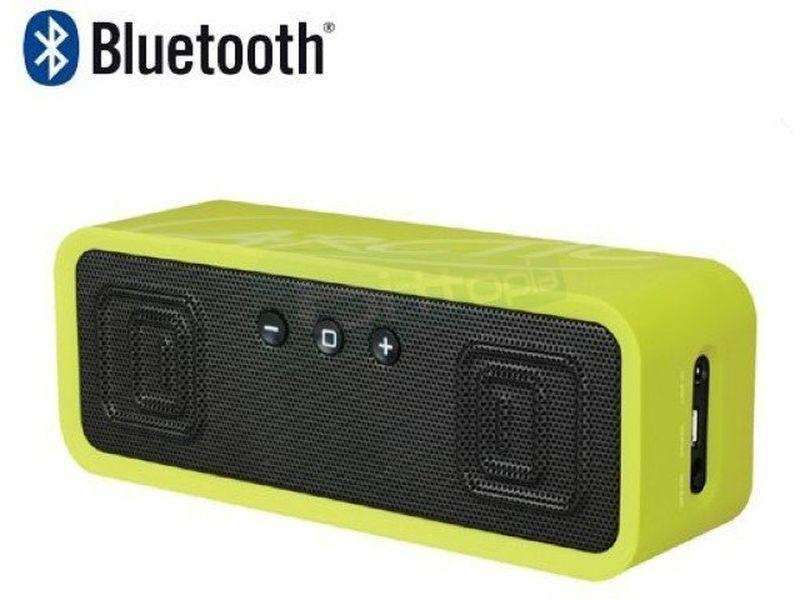 Arctic S113BT Lima. Altavoces Bluetooth - Altavoces portátiles en color lima. Conexiones: Bluetooth, NFC y Jack 3,5mm. Frecuencia de respuesta: 30Hz ~ 20kHz. Salida: 2 x 3W. 290gr.