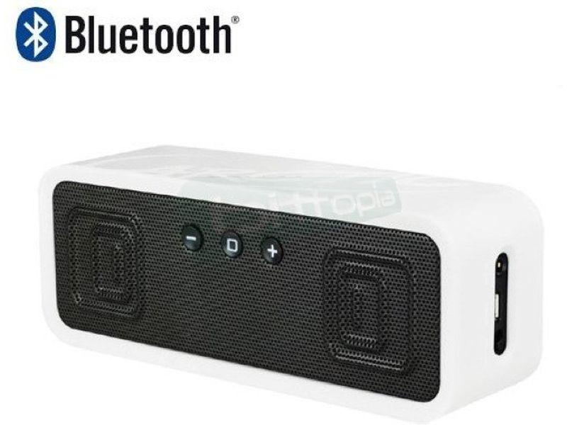Arctic S113BT Blanco. Altavoces Bluetooth - Altavoces portátiles en color blanco. Conexiones: Bluetooth, NFC y Jack 3,5mm. Frecuencia de respuesta: 30Hz ~ 20kHz. Salida: 2 x 3W. 290gr.