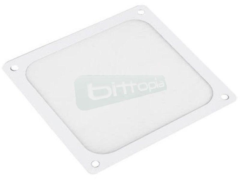 SilverStone FF143W. Filtro Blanco ultrafino magnetico para ventilador de 140mm