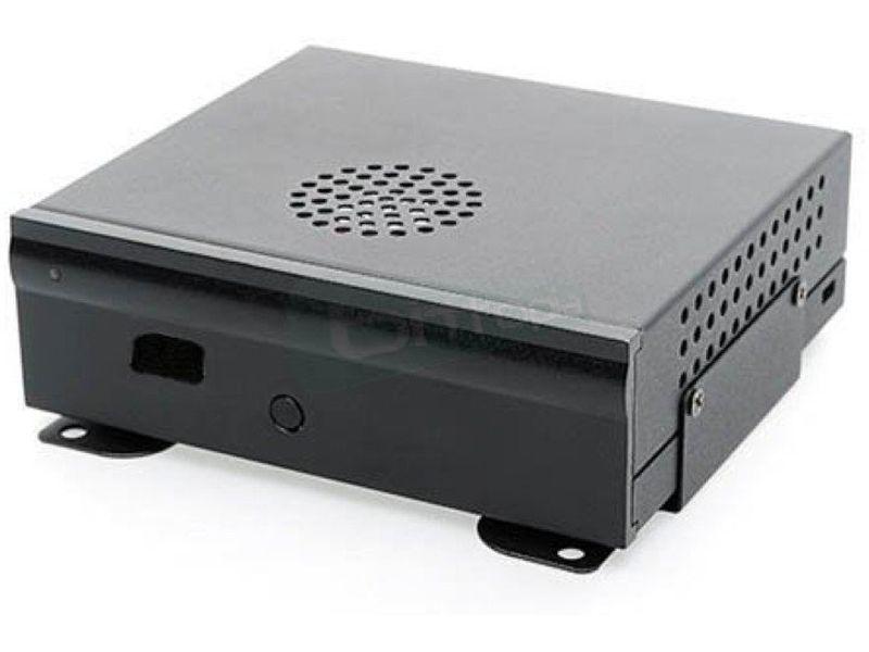 Morex Loop 3217W. Caja NUC 65W - Caja en formato NUC. Compatible con Intel DCP847SKE y D33217GKE. Conexiones laterales: 1 x USB 2.0 y 1 x Lector tarjetas SD. Incluye transformador AC/DC 65W.