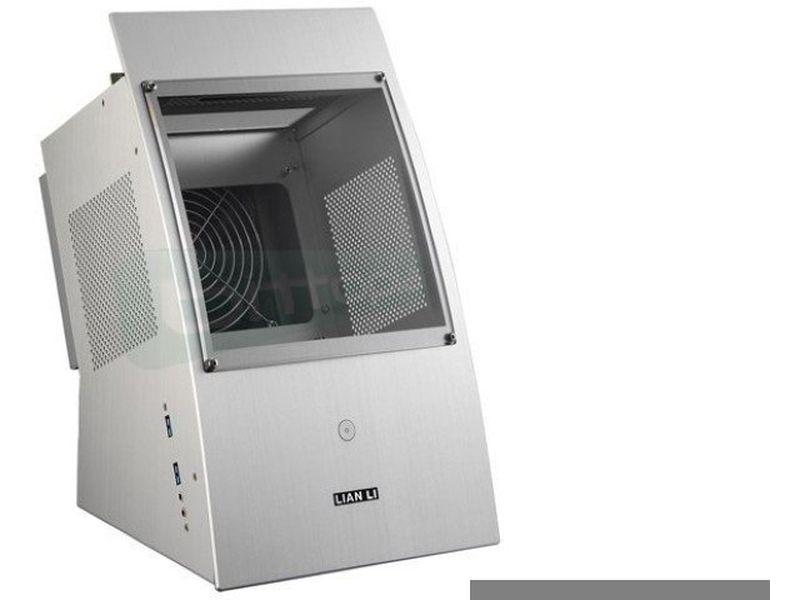 Lian Li PC-Q30A. Plata. Exposicion vertical - Caja MiniTorre fabricada en aluminio de color plata. Conexiones USB 3,0 y Audio HD frontales. 4 x bahías internas de 2.5