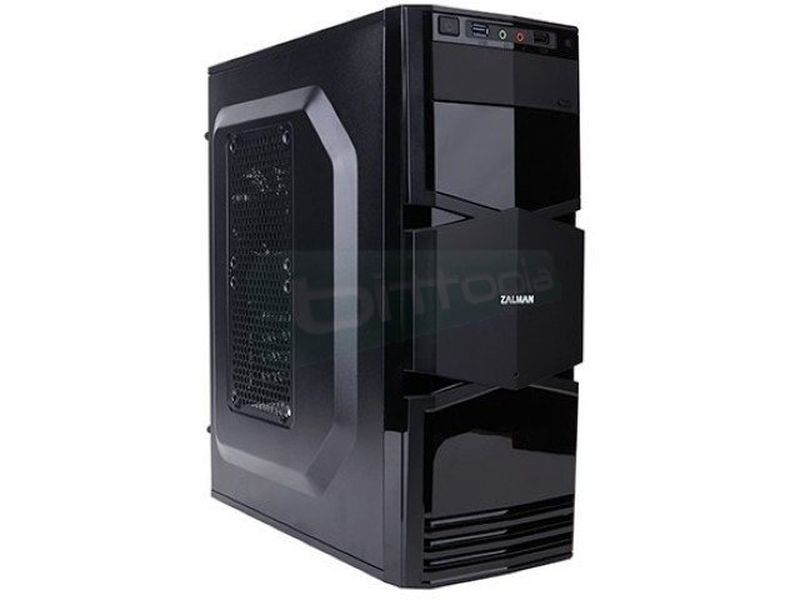 Zalman T3 USB 3.0 - Caja MiniTorre Micro-ATX en color negro. Conexiones superiores: 1xUSB3.0, 1xUSB2.0, Audio. 1 x Bahía externa 5.25
