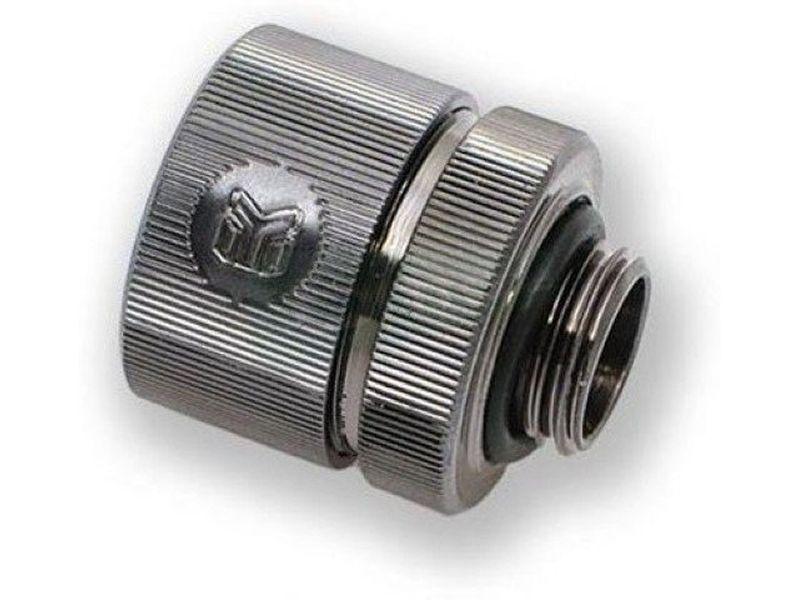 EK Compresion EK-CSQ 19-13mm. G1/4 Black Nickel - Racor con rosca G1/4 y para tubo de 13-10mm. Gran calidad de acabado y con el logo de EK en el lateral.