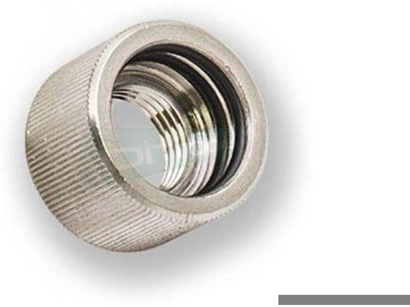 EK Adaptador Hembra EK-HD 16-12mm. Nickel - Adaptador (o racor) para el uso de tubo rígido, ya sea acrílico o de cobre.