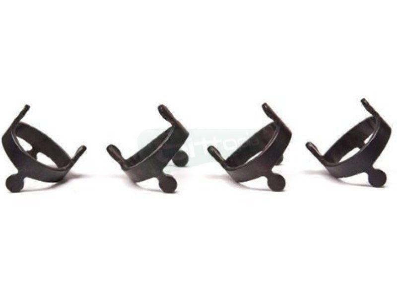 Feser VA TUBE Corner SET x4 pcs. 13mm. Negro - Nuevo concepto de smartcoil cortado a laser y en acero inoxidable.