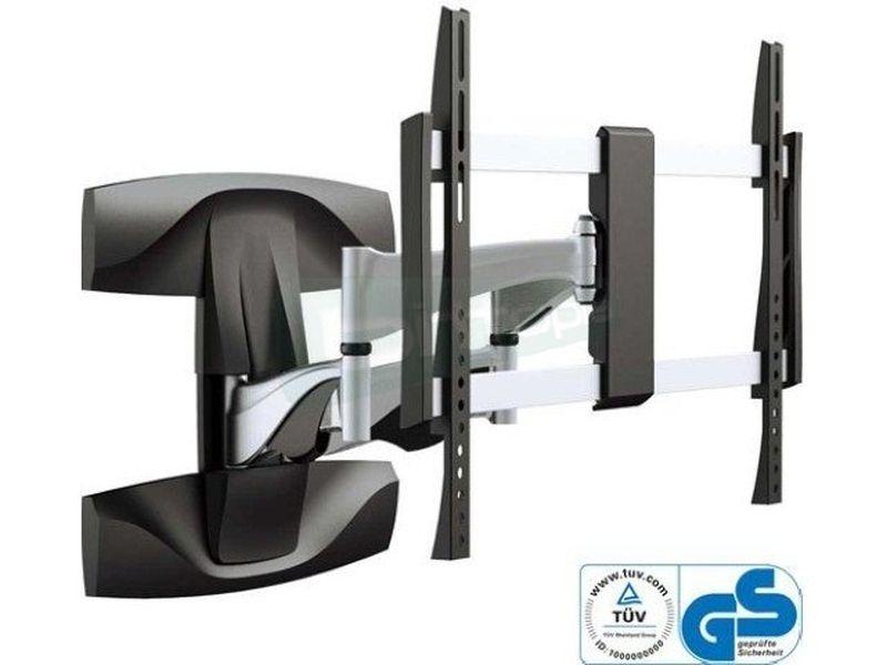 Soporte pared 3 pivotes. 32-60pulg. Hasta 45Kg - Soporte de pared flexible para 1 pantalla desde 32 hasta 60 (81~152cm). Capacidad hasta 45Kg.