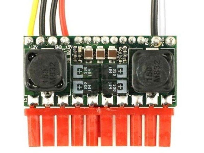 F.A. PicoPSU 80W-WI 12-32V DC-DC - Fuente interna DC-DC de 80W en formato Pico-PSU. Es ideal para el montaje de equipos de mínimas dimensiones.