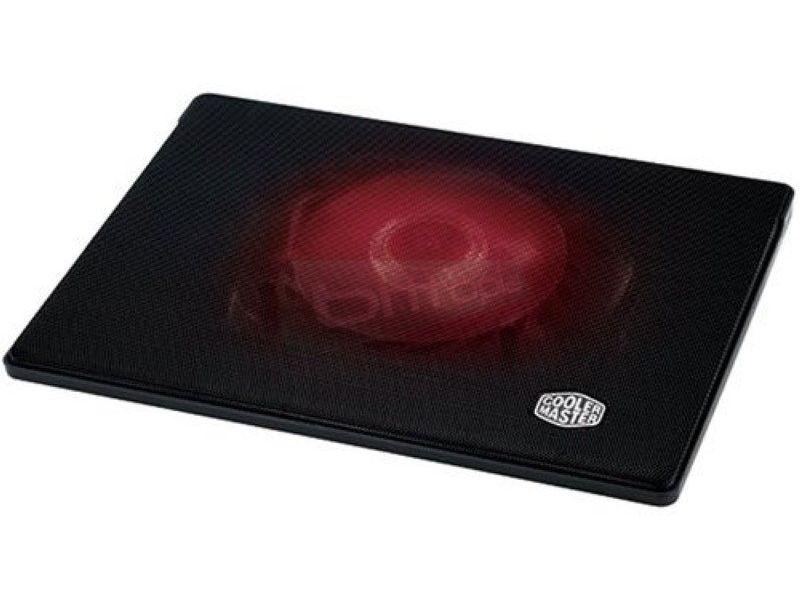Cooler Master Notepal I300 Negro con luz Roja