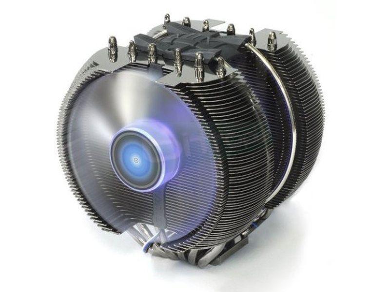 Zalman CNPS 12X - Cooler para CPU fabricado en cobre y aluminio. 3 Ventiladores 120mm. 950~1200RPM. 22~24dBA. Compatible con 775. 115x. 1366. 2011. AM2. AM2+. AM3. AM3+. FM1 y FM2.