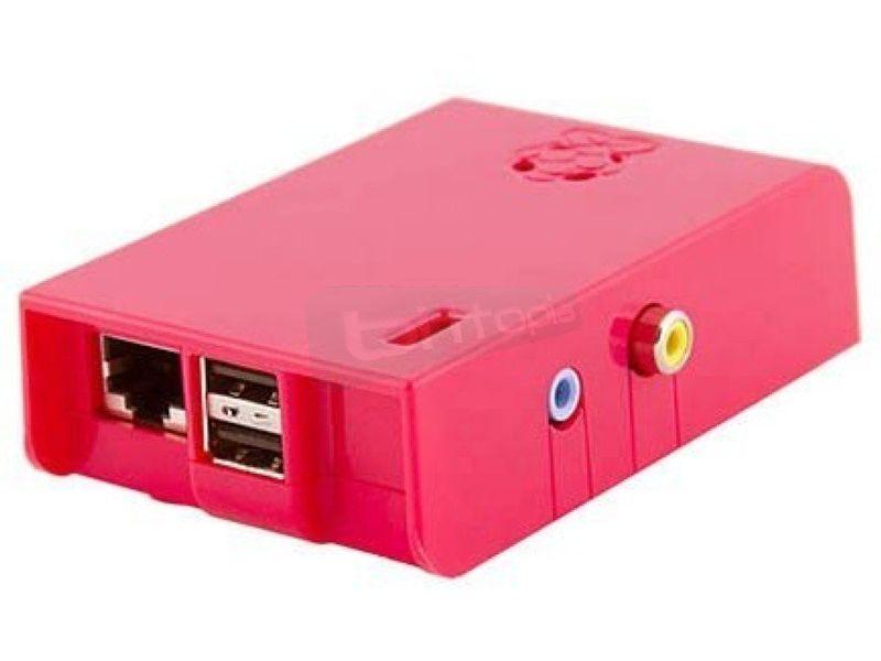 Raspberry Pi Caja+Placa B 512Mb Frambuesa - Barebone Raspberry Pi. ARM1176JZF-S 700 MHz, 512Mb, VideoCore IV GPU, USB, HDMI, Red RJ45 10/100. Caja Frambuesa.