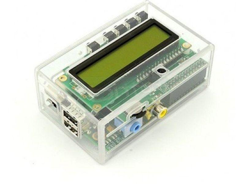 Caja para KIT Raspberry Pi + PiFace Transparente - Caja Transparente. Compatible con las placas Raspberry PI Type A o Type B.