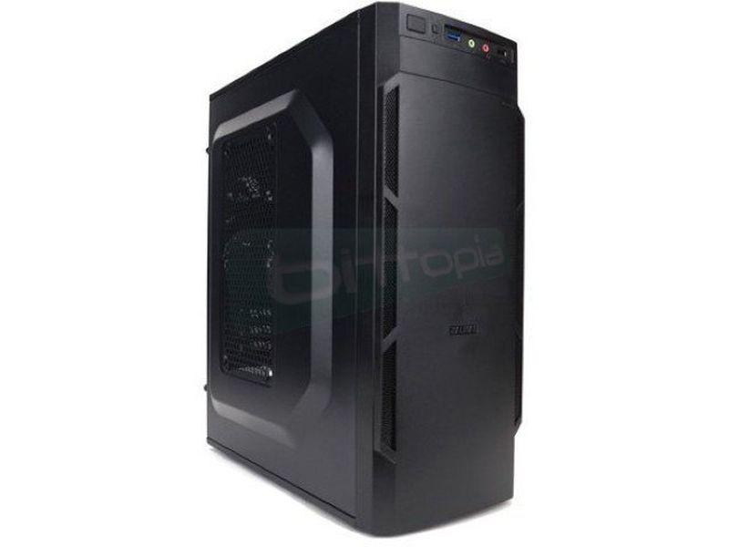 Zalman T1Plus USB 3.0 - Caja MiniTorre Micro-ATX en color negro. Conexiones: 1 x USB 3.0, 1 x USB2.0, AudioHD. 1 x Bahía externa 5.25. 2 x Bahías internas 3,5. 3 x Bahías interas 2,5.
