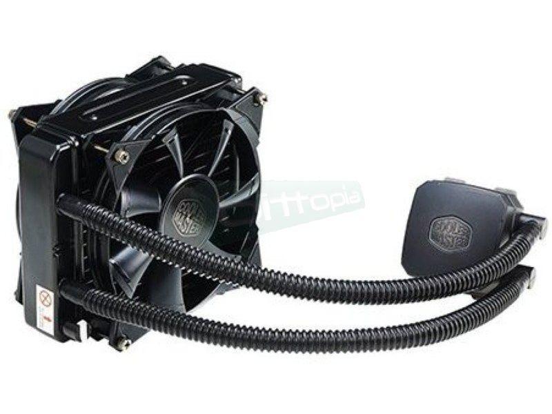 Cooler Master Nepton 140XL - Sistema de refrigeración líquida completo, sencillo  mantenimiento e instalación. Compatible 775/1150/1155/1156/1366/2011 y AM2/AM2+/AM3/AM3+/FM1/FM2.