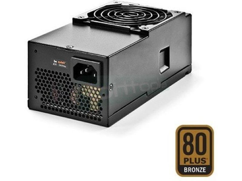 be quiet! TFX Power 2 300W 80Plus Bronze - Fuente de alimentación TFX de 300W. Certificación 80+ Bronze. Incluye ventilador de 80mm.