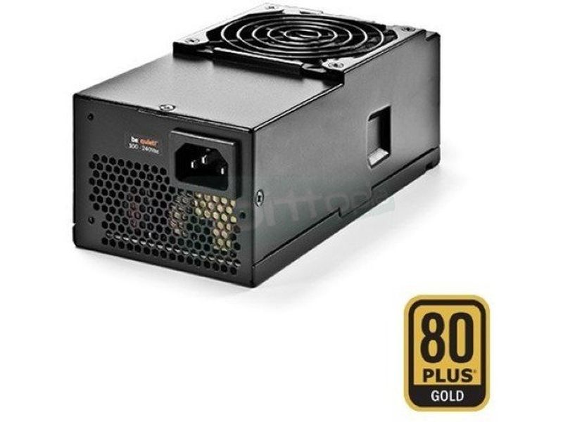 be quiet! TFX Power 2 300W 80Plus Gold - Fuente de alimentación TFX de 300W. Certificación 80+ Gold. Incluye ventilador de 80mm.