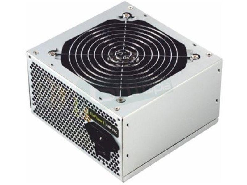 Tooq Ecopower II TQEP-500SP - Fuente alimentación ATX. Ventilador 120mm. Ruido: