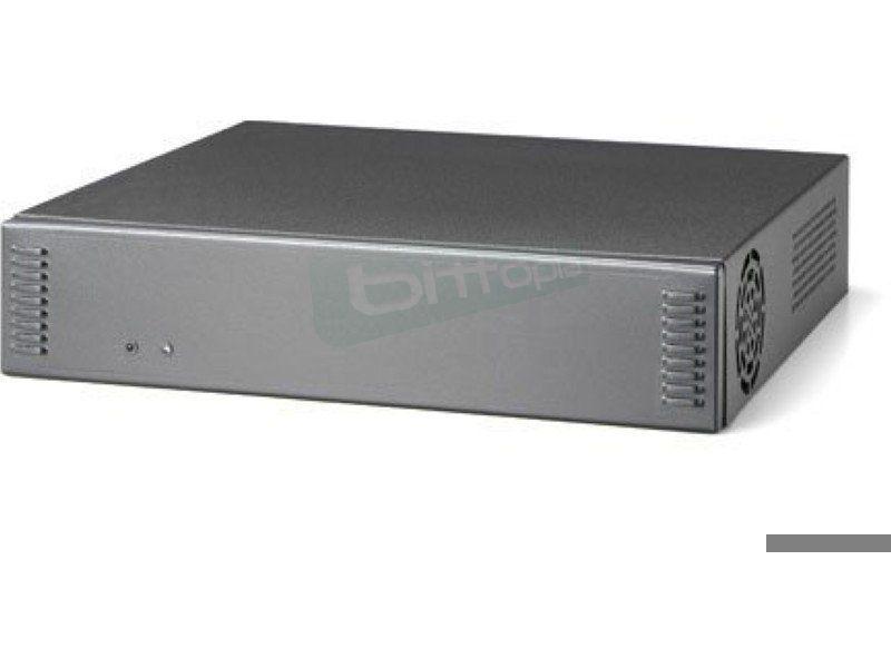 Morex 2757 Negra con riser card y ACDC 60W. Mini-ITX