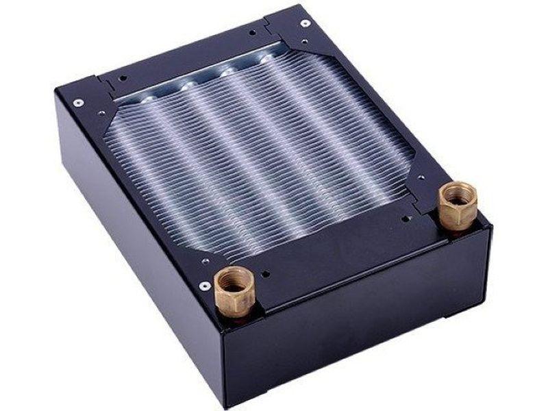 Phobya G-Changer 120 HPC - Radiador con tubería redonda de alto rendimiento HPC(High Pressure Compatible)