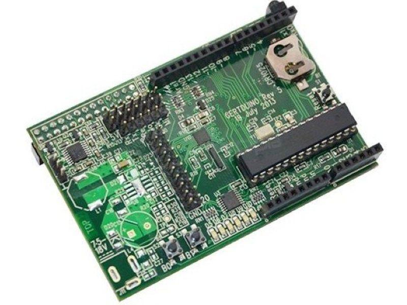 Placa de expansion GertDuino - GertDuino, es una placa de expansión para Raspberry Pi con Arduino-UNO.