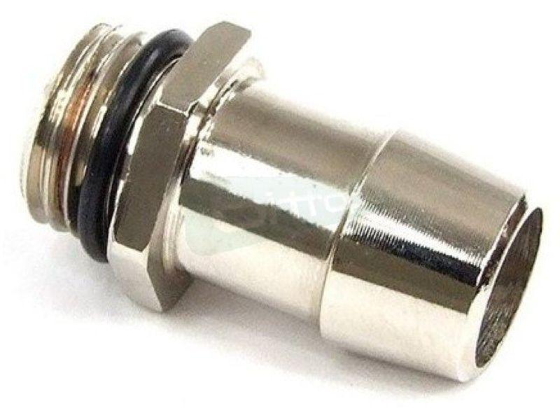 Phobya racor espiga 13mm G1/4 - Racor de espiga para tubos de 13mm de diámetro interior.
