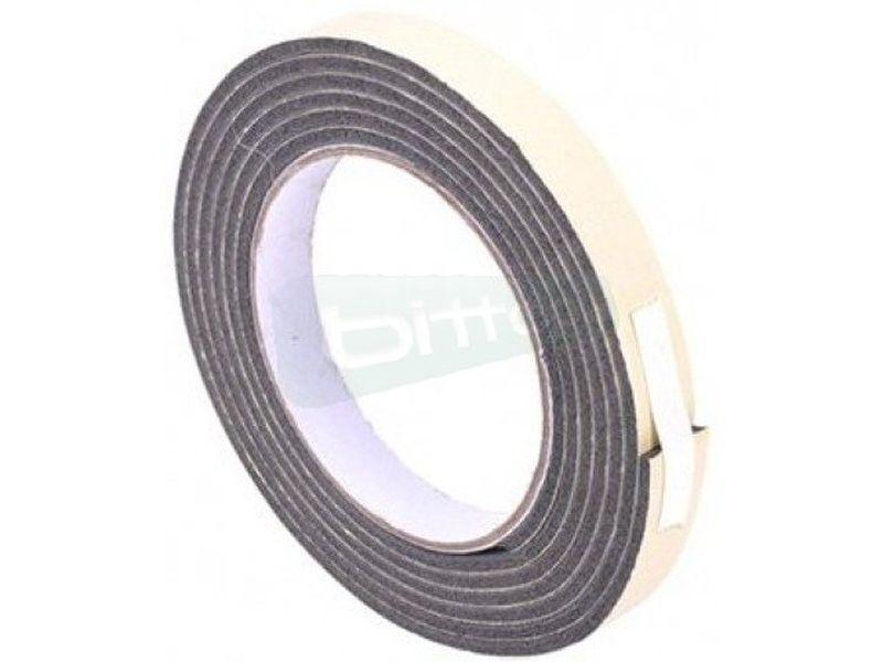 Phobya Tira de sellado para Radiador (200cm) - Tira de espuma adhesiva  para el perfecto montaje de ventiladores, radiador. Etc…