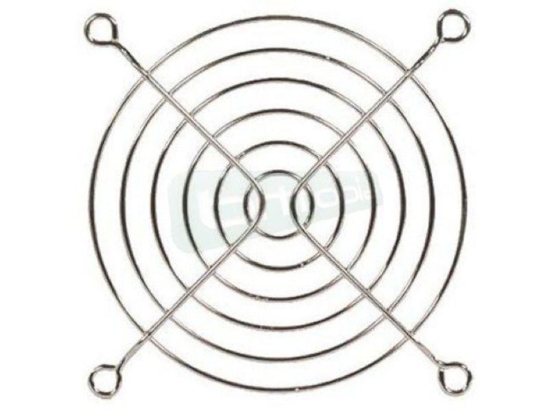 Rejilla metalica 120x120 - Rejilla fabricada en metal compatible con ventiladores de 120mm.