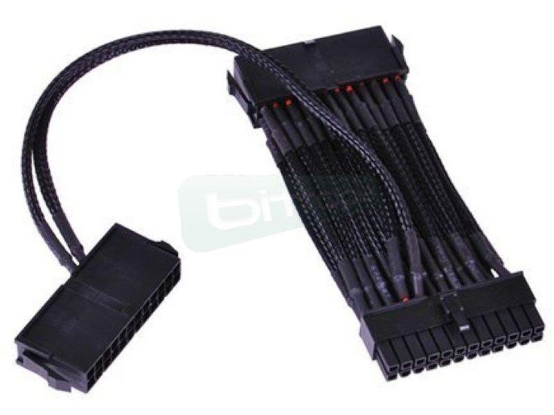 Phobya Ladron PSU 24p. (Conectar dos fuentes en un - Este cable permite la instalación de dos fuentes de alimentación en un sistema con un único botón de encendido.