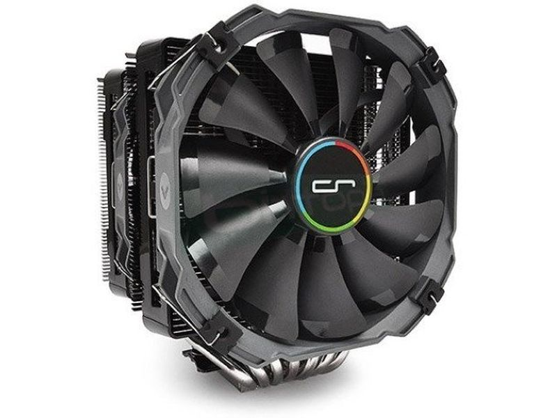 Cryorig R1 Ultimate - Cooler para CPU con 7 heat-pipes de cobre. Incluye 2 ventiladores XF140. Compatible con socket Intel 775, 1155, 1156, 1366, 2011 y AMD AM2, AM2+, AM3, AM3+, FM1 y FM2.
