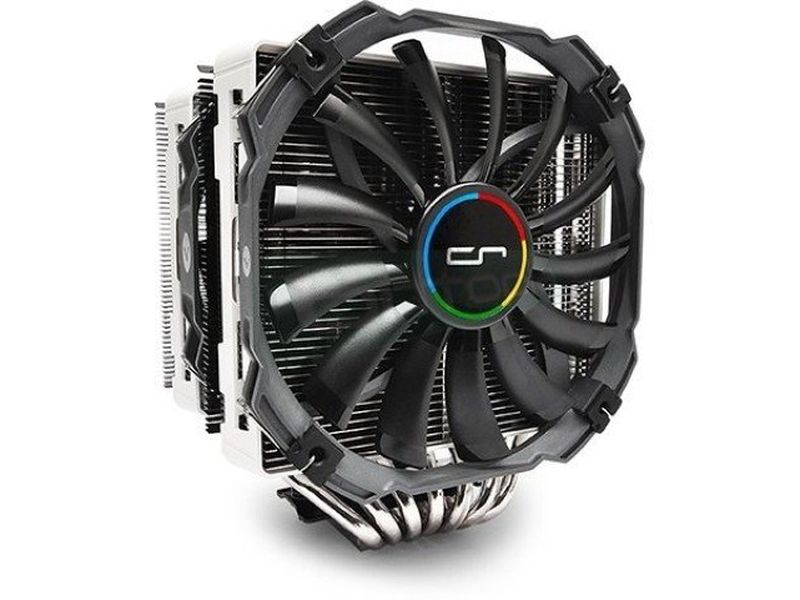 Cryorig R1 Universal - Cooler para CPU con 7 heat-pipes de cobre. Incluye 1 ventilador XF140 y otro XT140. compatible con socket Intel 775, 1155, 1156, 1366, 2011 y AMD AM2, AM2+, AM3, AM3+, FM1 y FM2.