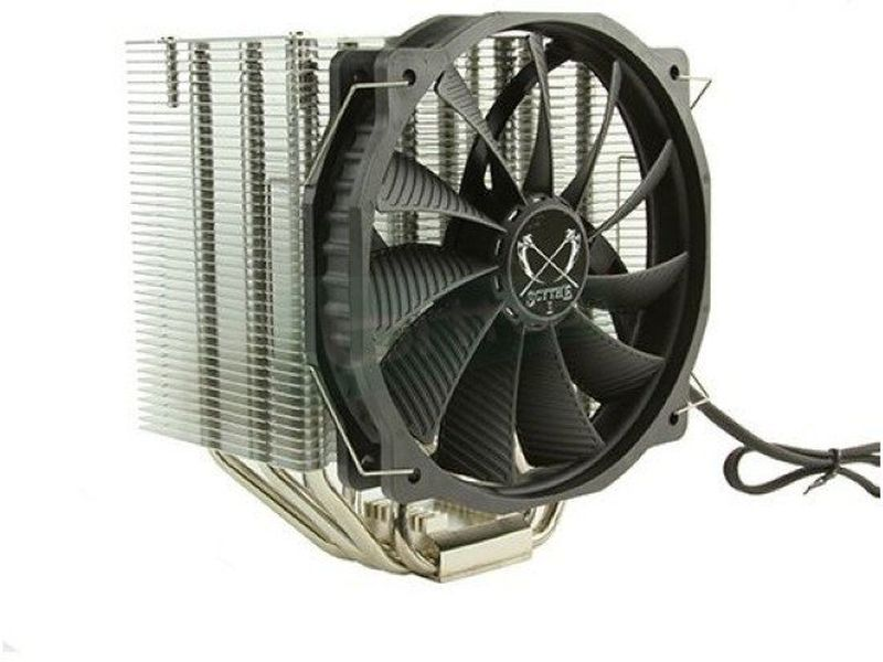 Scythe Mugen Max - Cooler para CPU fabricado con base de cobre niquelado. Ventilador 140mm PWM. 500~1300RPM. 13~30.7dBA. Compatible con Socket 775/115X/1366/2011 y Socket AM2(+)/AM3(+)/FM1/FM2(+).