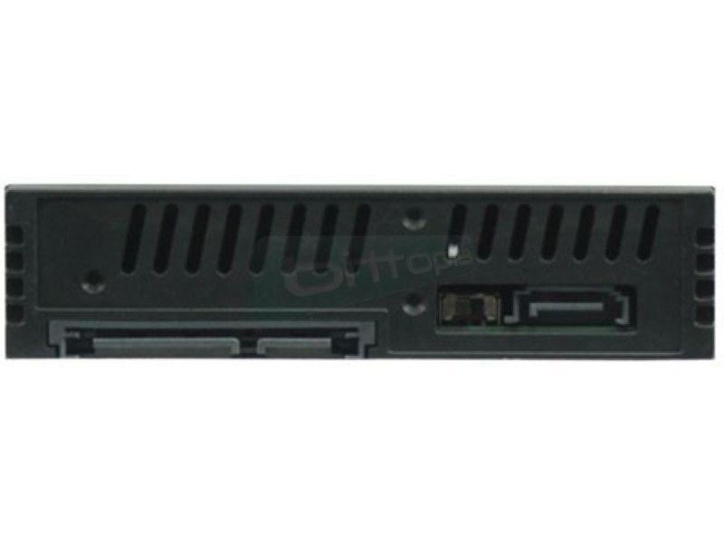 Extraible Bahia 3,5 para 2 SATA 2,5 HDD Con Llave - Extraíble para 2 discos de 2.5 que ocupa una bahía de 3.5. Sin ventilador.
