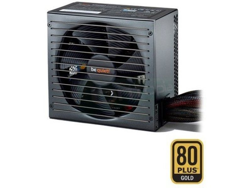 be quiet!  Straight Power E10-400W 80Plus Gold - Fuente de alimentación ATX de 400W. Certificación 80+ Gold. Ventilador SilentWings de 135mm. 10.4~11.7dBA. 3 Railes 12V.