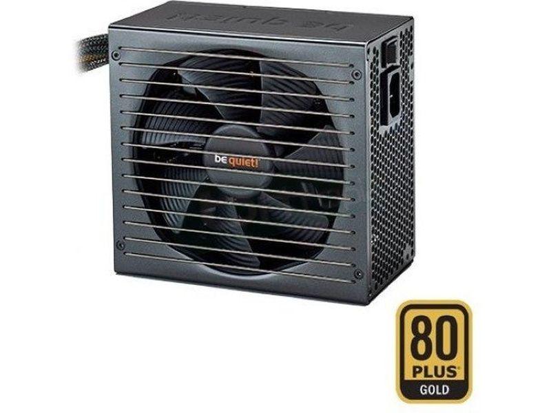 Be Quiet  Straight Power E10-CM-500W 80Plus Gold m - Fuente de alimentación ATX de 500W. Certificación 80+ Gold. Ventilador SilentWings de 135mm. 10.3~15dBA. 4 Railes 12V. Cableado Modular.