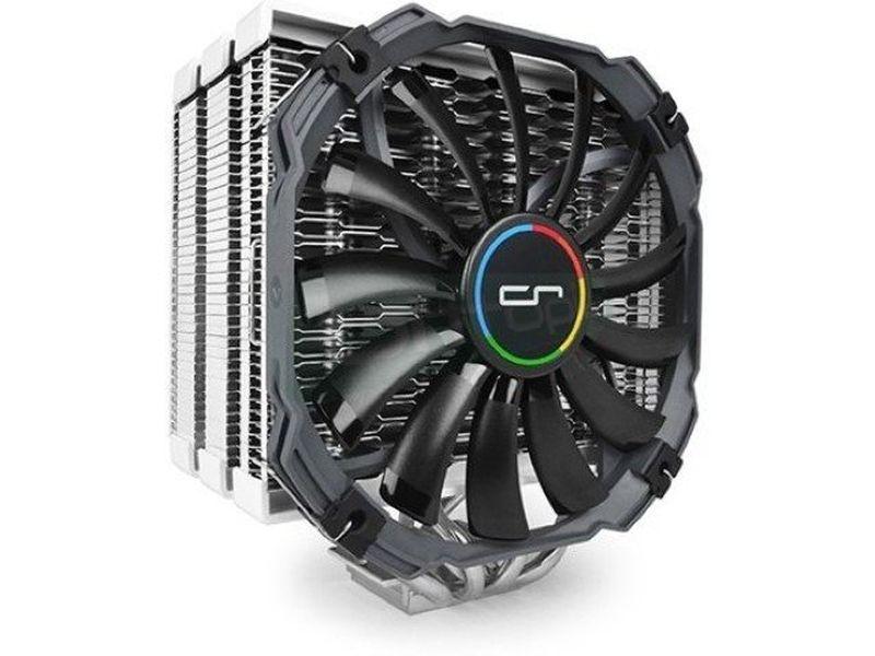 Cryorig H5 Universal - Cooler para CPU con 4 heat-pipes de cobre. Incluye 1 ventilador XT140 140x140x13mm. Velocidad: 700~1300RPM. Nivel sonoro: 20~24dBA. Flujo de aire: 65CFM. Compatible con socket Intel 775, 115X, 1366, 2011 y AMD AM2(+), AM3(+), FM1 y FM2(+).