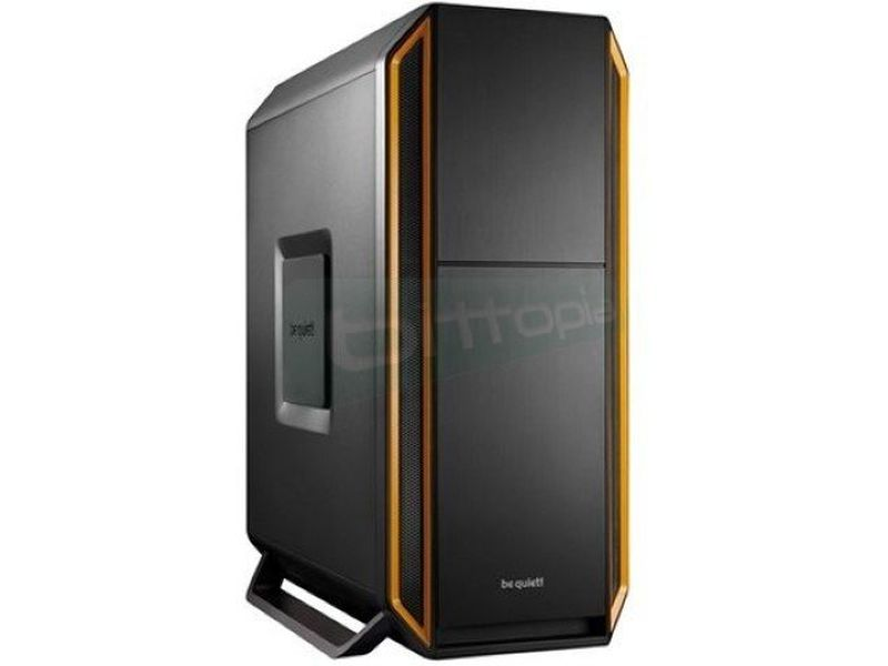 Bequiet Silent Base 800 Naranja - Caja Semitorre en color negro/naranja. Conexiones: 2 x USB 3.0. 2 x USB 2.0 y Audio HD. Compatible con gráficas hasta 40mm. 7 PCI. 3 bahías externas 5.25. 7 bahías internas 3.5. 4 bahías internas 2.5.