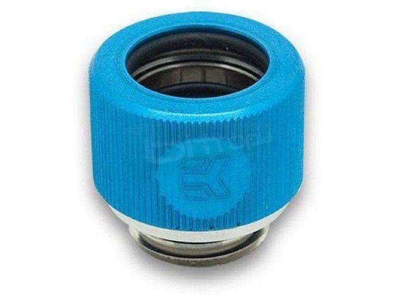 EK Adaptador EK-HDC 12mm. G1/4 Blue - Nuevo sistema de compresión para tubo rígido compatible. Ahora con una asombrosa combinación de colores.