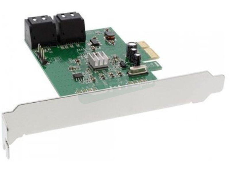 Inline 76617E. Tarjeta PCIeX1 4xSATA 6Gb/s - Controladora PCI-Express x1 con 4 puertos SATA III internos.