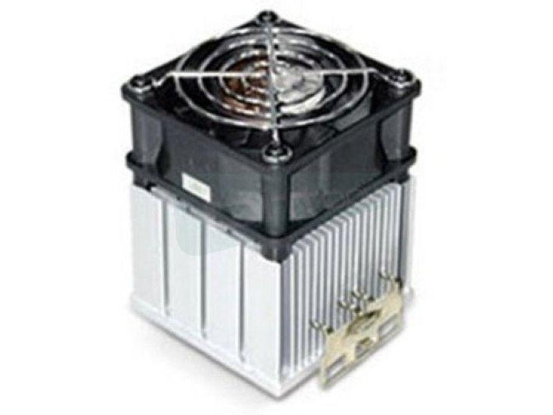 Globalwin SAK38 - Cooler para CPU. Fabricado con aleación de aluminio. Ventilador 60x60x45mm. 38.4CFM. 7000RPM. 46.7dBA. 3-Pin. Compatible con sockets Intel 370 y AMD 462.
