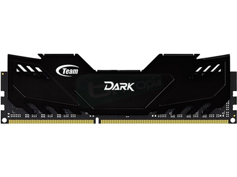 Team Dark Black 8Gb DDR3 1600Mhz 1.5V - Team Dark Black. Memoria interna: 8 GB. Tipo de memoria interna: DDR3. Velocidad de memoria del reloj: 1600 MHz.