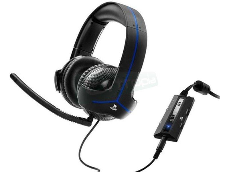 Thrustmaster Auriculares Y-300P Oficial LC - Tipo de auricular: Binaurale. Estilo de uso: Diadema. Color del producto: Negro.