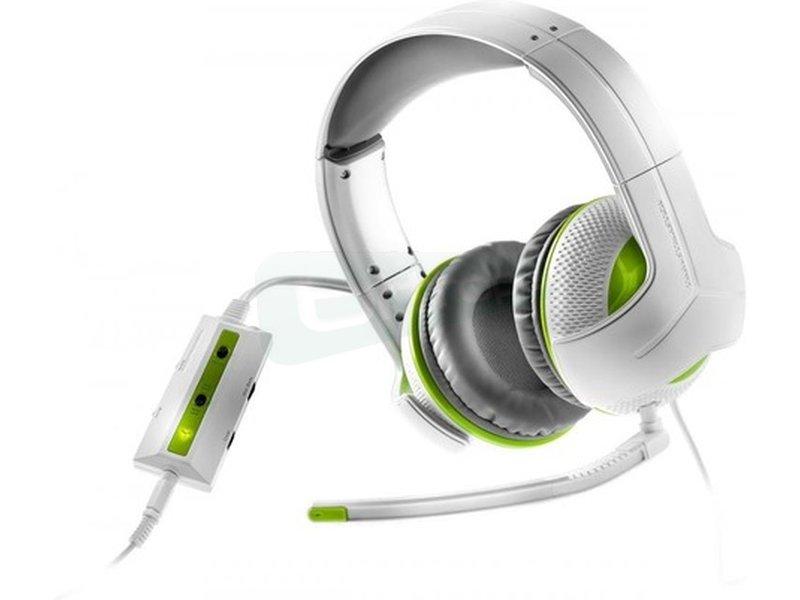 Thrustmaster Auriculares Gaming Y-250X Blanco - ¡Oye todo y reacciona rápido! ¡Por fin podrás escuchar correctamente las bajas frecuencias de las explosiones!