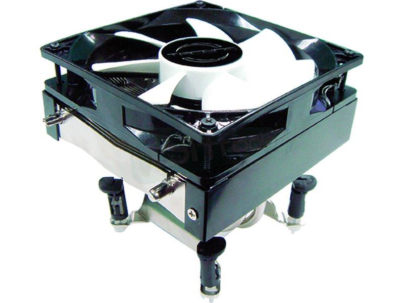 Tacens Gelus - Cooler de CPU con base de cobre. Ventilador de 120mm. Velocidad: 800~1500RPM. Flujo de aire: 28.5~52.25CFM. Nivel sonoro: 9~16dBA. Compatible con Intel 775 y AMD 754, 939 y 940.