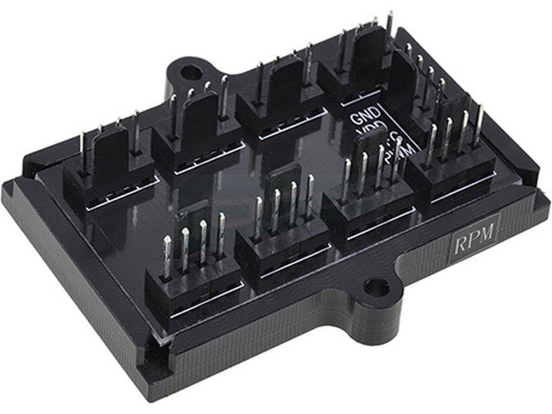 Phobya Splitter 8x PWM - Conecta hasta 8 ventiladores PWM y regúlalos con una sola conexión a placa.