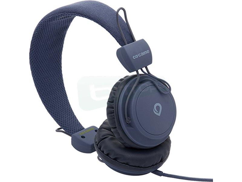 Co:caine City Beat Nautics - Auricular diadema. Frecuencia 20Hz-20kHz. Jack 3.5mm. Altavoces de 40mm.